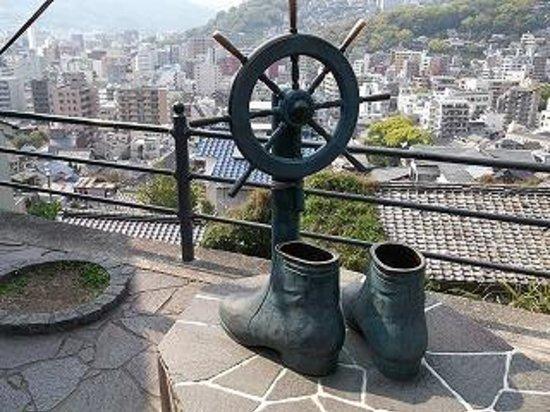 Statue of Ryoma Sakamoto's Boots: ブーツ