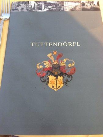 Die Speisekarte - Bild von Restaurant Tuttendörfl ...