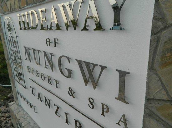 Hideaway of Nungwi Resort & Spa: LOGO