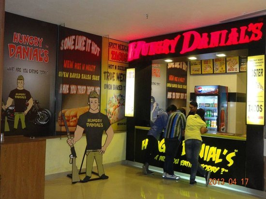 Hungry Danial's : hd now in phoenix mall