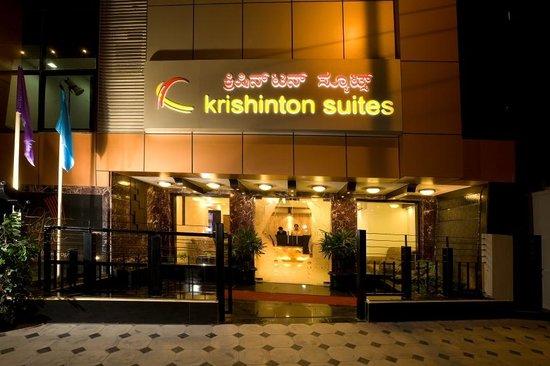 Krishinton Suites: Front view