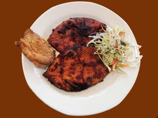 Fried fish picture of rahul restaurant and bar pune for Fried fish restaurants