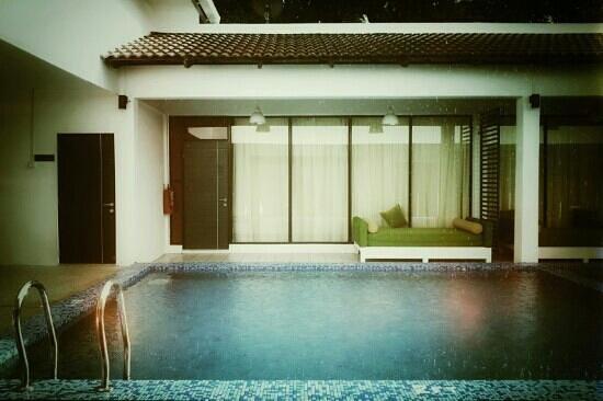 The Villa Langkawi: room facing pool