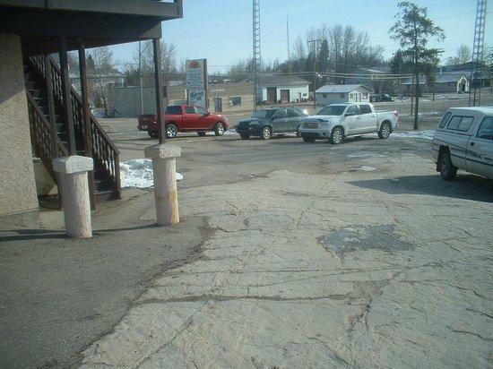 Bedrock Parking Lot!