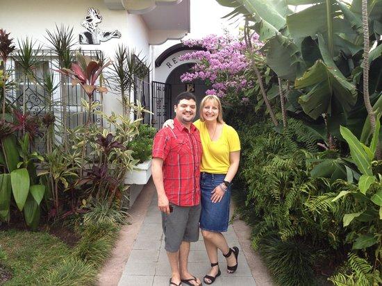 Hotel Le Bergerac Boutique: Mi y mi esposa