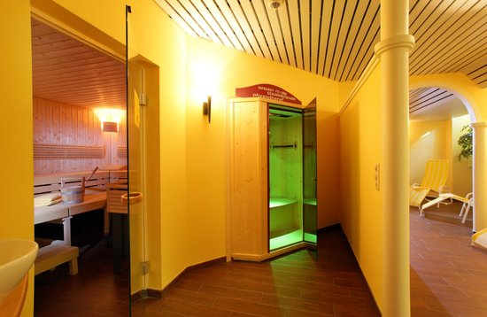 Alpenhof Brixen: fin. Sauna, Infrarotkabine