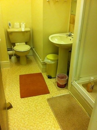 Dalestorth Guest House: shared bathrooms dated