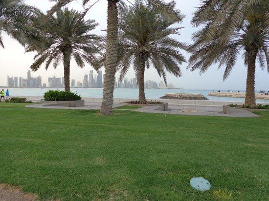 Safir Doha Hotel: Doha skyline
