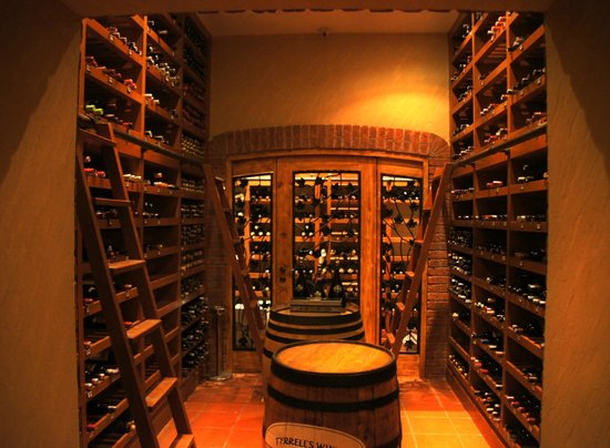 The Steakhouse: welcome to our Wine Cellar