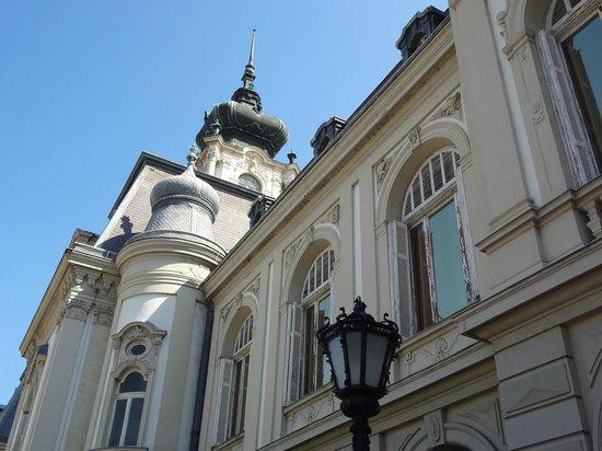 Festetics Palace : Derrière