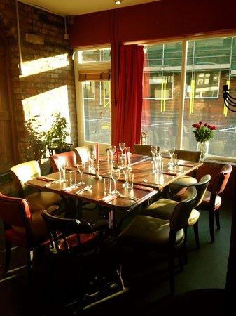 Glutton Club: The sun shining through our restaurant