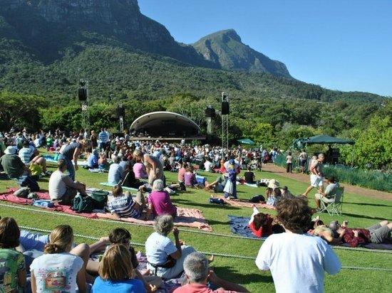 Constantia Cottages: Proximity - Concert at Kirstenbosch Botanical Gardens