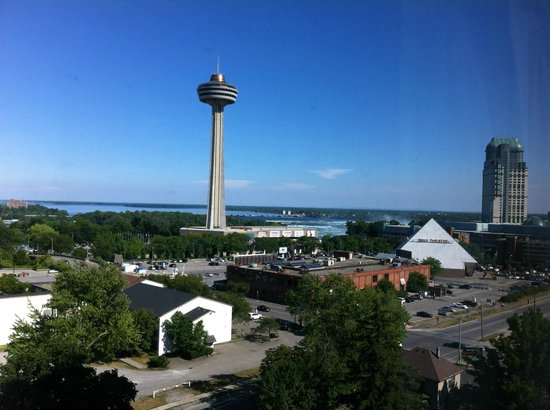 DoubleTree Fallsview Resort & Spa by Hilton - Niagara Falls: View from the room