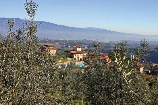 Fontebussi Tuscan Resort: Veduta Borgo