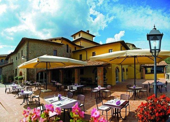 Fontebussi Tuscan Resort: Terrazzo ristorante