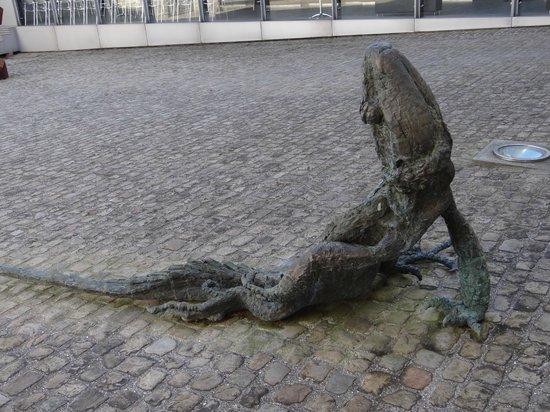 Musée de Cambrai : lezard