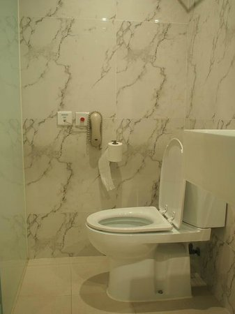 Mini Hotel Causeway Bay Hong Kong: toilet
