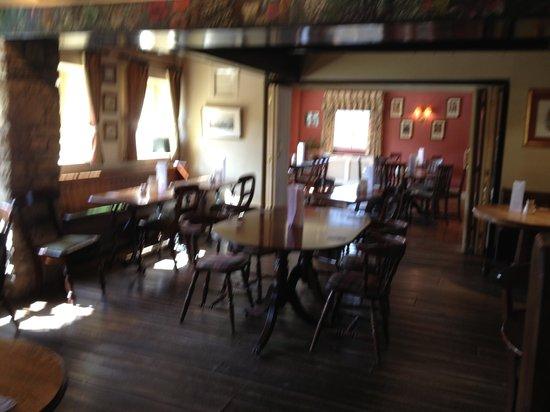 The White Bear Country Inn: White Bear Hotel dining / breakfast room