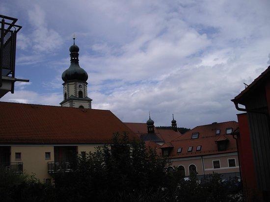 Hotel Klosterhof: Innenhof