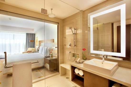 Courtyard by Marriott, Bhopal - Deluxe Room and Bathroom - Picture ... - Bathroom With Courtyard
