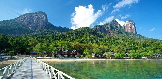 Tunamaya Beach & Spa Resort - Tioman Island: View from Resort Jetty