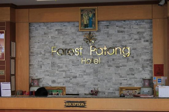 Forest Patong Hotel: Холл