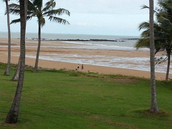 Sarina Beach Motel: View from verandah of Sarina Beach