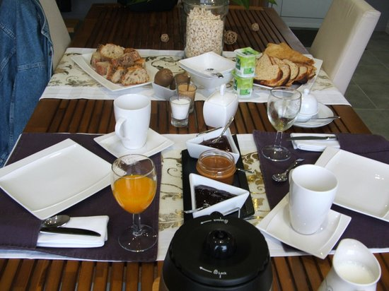 L'Abri des Dunes : super petit déjeuner!