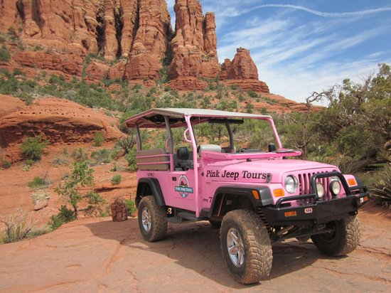 Steep In A Pink Jeep Picture Of Pink Jeep Tours Sedona