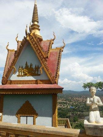 Phnom Sampeau: Tempel op de top