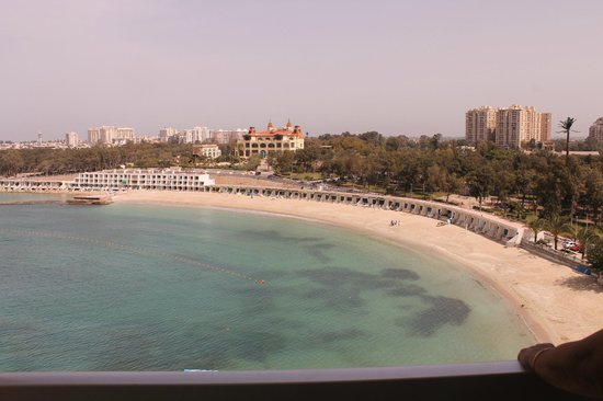 Helnan Palestine Hotel: View from the room and its private beach