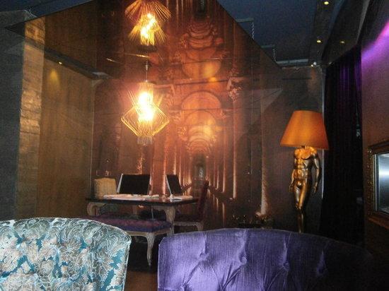 Tulip City Hotel: De internet plek in het hotel..