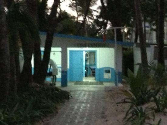 Sensimar Punta Cana: divecenter - drugie- znajdujące sie przy RIU