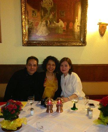 Hotel-Restaurant Kranenturm: Me, Fatima & my wife