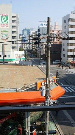 Shin-Osaka Sunny Stone Hotel: 4th floor view