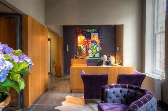 Prinsenhof Hotel : Hotel reception