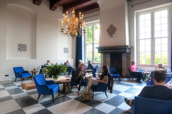 Prinsenhof Hotel: Grand café