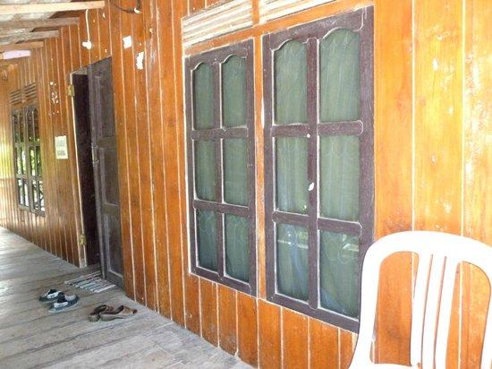 Salassa Guest House: Veranda