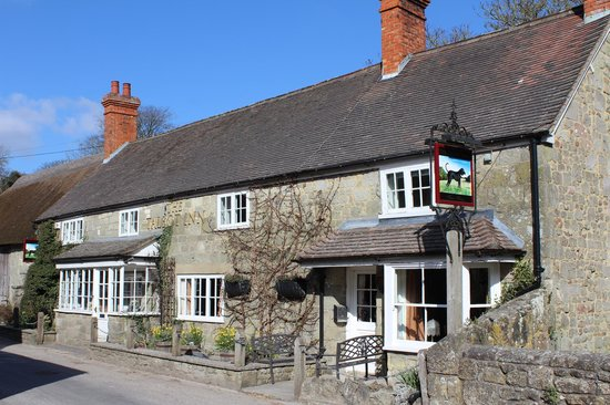 The Talbot Inn from the front