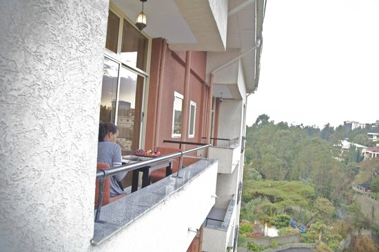 RiverSide Apartment Hotel: View from Balcony