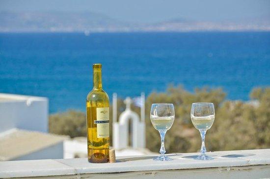 Hotel Kymata: Sea view