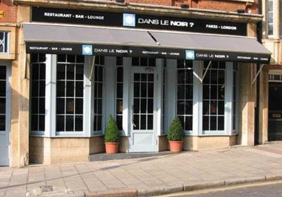 Dans le noir london clerkenwell restaurant reviews for Dans ke noir