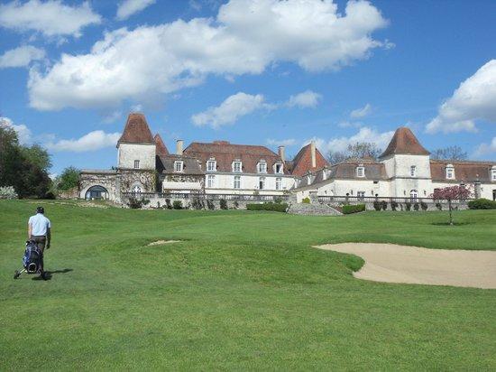 Chateau des Vigiers: Trop beau..... le mec