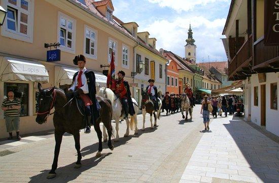 Tkalčićeva: Ожившие декорации.