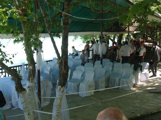 Manavgat Buyuk Selale Restaurant: Wedding area