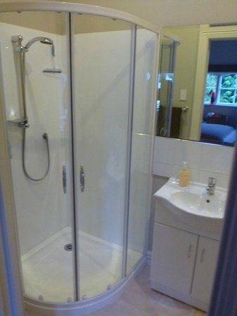 Echo Lodge: shower