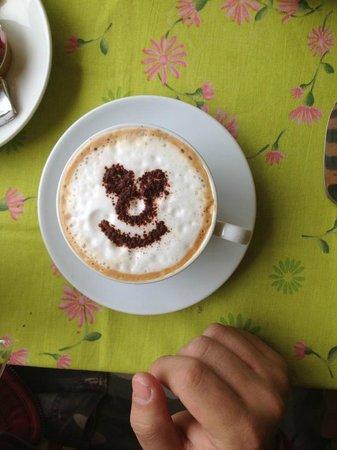 Sandra B&B: Cappuccino Smile