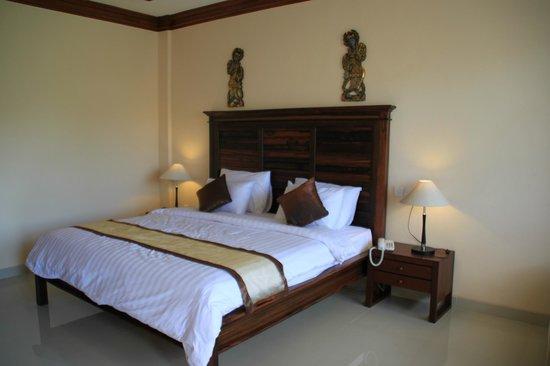 Bhuwana Ubud Hotel : Stora fräscha rum
