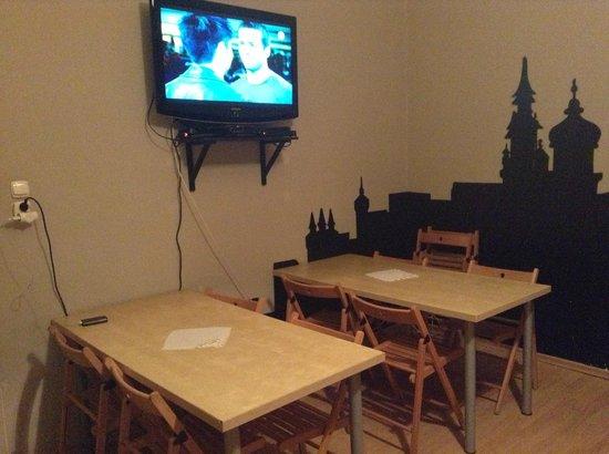 Hostel Ramzes: Living room