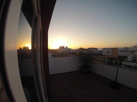 Ebusus Apartments : 1st Day Sunrise 6.40am